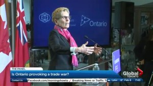 Is Ontario provoking a trade war?